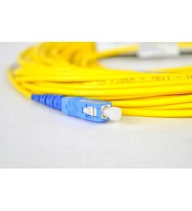 Fiber Optik Kablo 20 Metre Zirkonyum SC/UPC Siecor Gold US