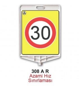 Azami Hız 30km Levhası 308