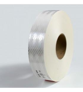 Beyaz Reflektif Bant 5cm x 50mt Reflekt Reflektör Reflektif Petekli Şerit Bant TÜVTÜRK Uyumlu