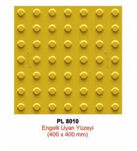 Engelli Uyarı Yüzeyi PL 8010