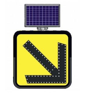 Güneş Enerjili Bilgi Levhaları 11822 Sağ - 11824 Sol