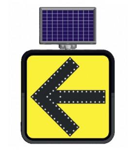 Güneş Enerjili Bilgi Levhaları 11826 Sol - 11828 Sağ