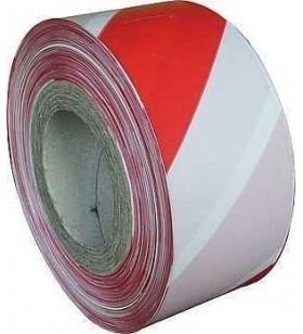 Kırmızı - Beyaz İkaz Bandı 500 metre