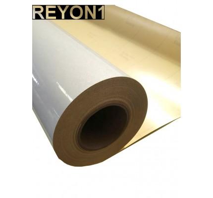 Beyaz Renk BASKILIK Reflektif Folyo 1,24M X 45,7M Düz Desen