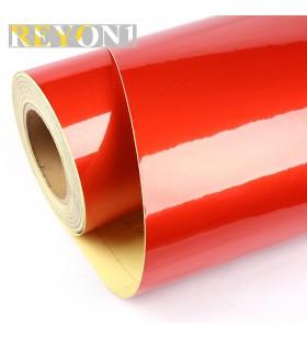 Kırmızı Renk Kesim Reflektif Folyosu 1,24M X 45,7M