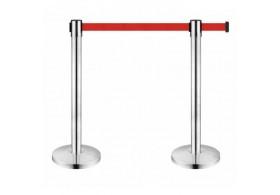 Şerit Bariyer 3 Metre Kırmızı Şeritli Yönlendirme Bariyeri Seti
