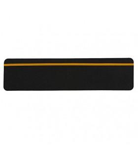 Siyah Kaydırmaz Bant Reflektörlü 150mm x 60cm