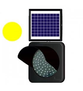 Solar Led'li Flaşör Lamba 300 mm Siperlikli